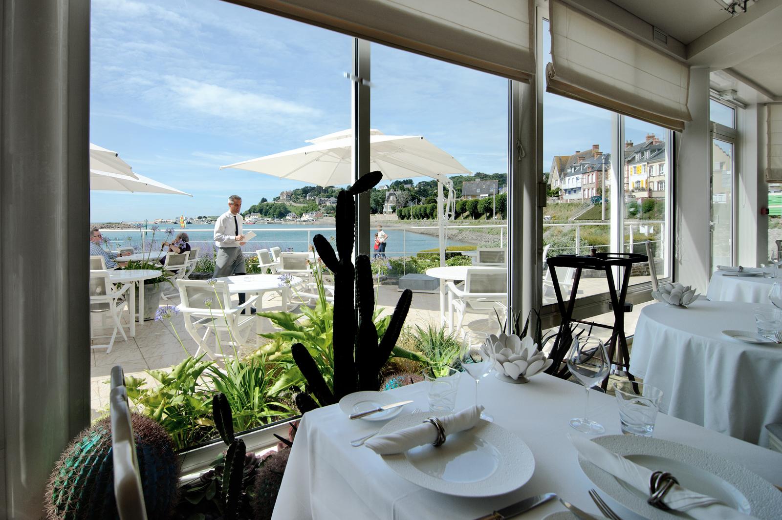 La marine hotel restaurant michelin barneville for Hotel michelin