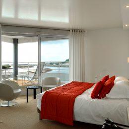 Hôtel bord de mer Normandie